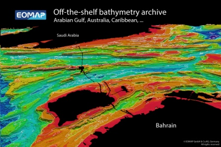 Bathymetry now available off-the-shelf