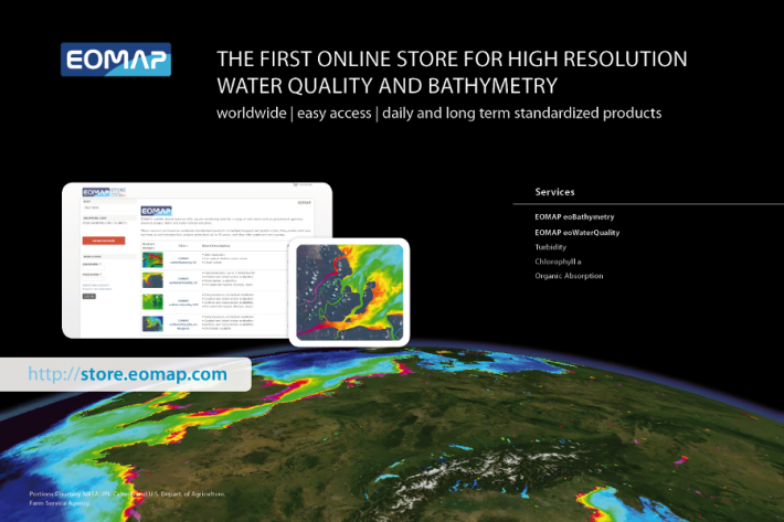 EOMAP launches web store