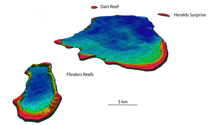 Coral Sea bathymetry mapping published