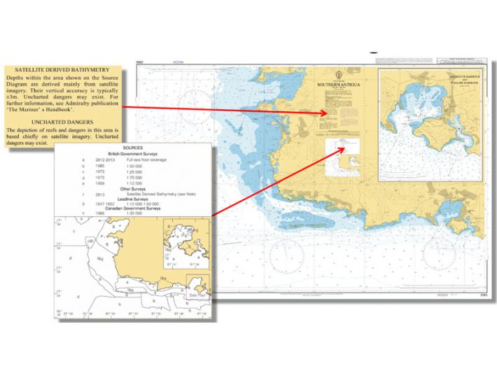 BA 2066 nautical chart – Satellite Derived Bathymetry