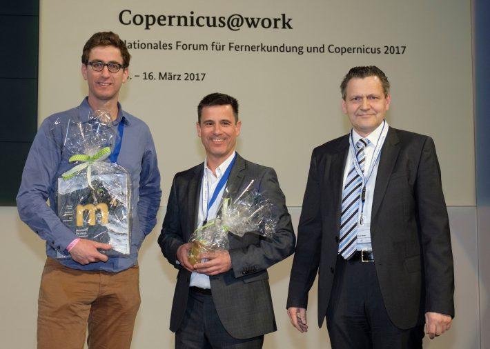 Copernicus Poster Award for EOMAP led MARSAT consortium