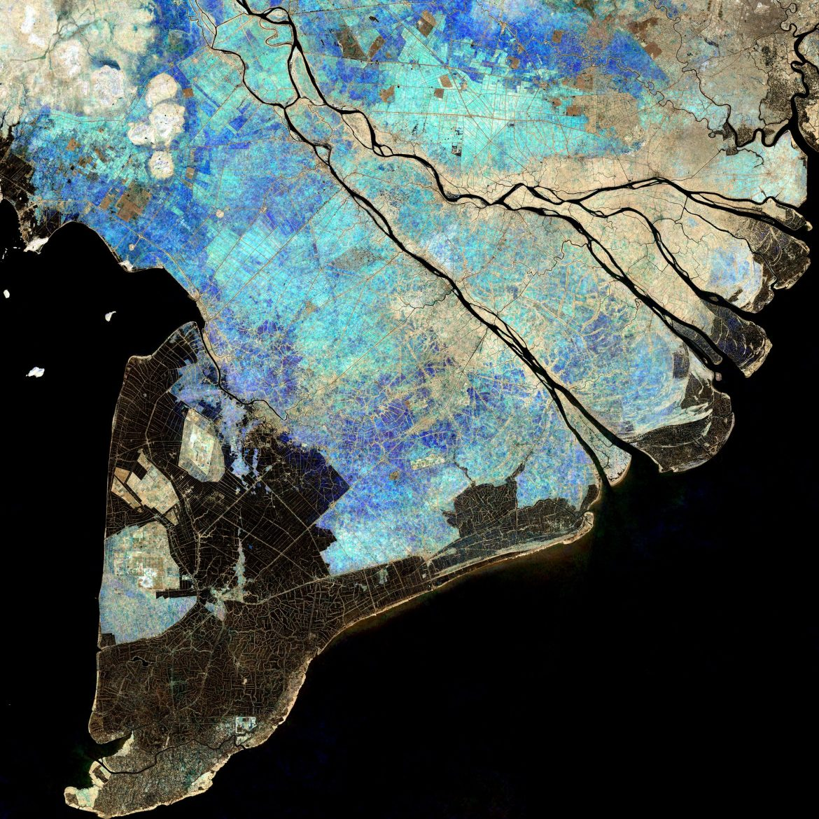 Mekong Delta: Monitoring sedimentation from space