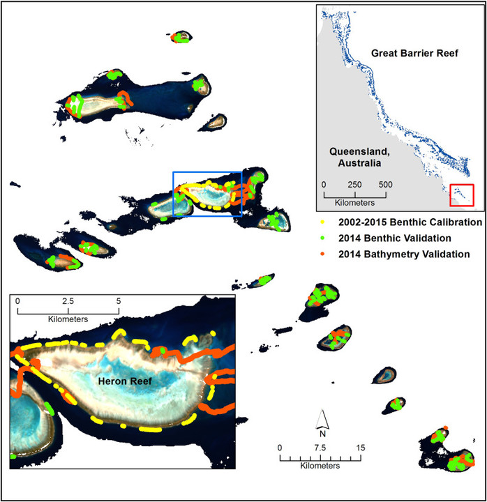 Predictive Habitat Mapping: Satellite-Derived Bathymetry Supports Coral Reef Restoration Efforts