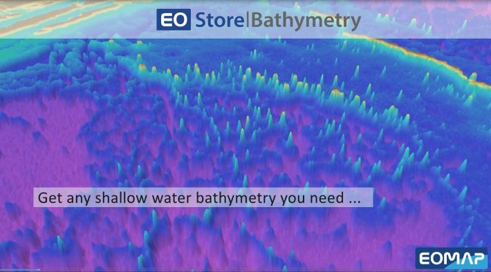 Access Shallow-Water Bathymetry You Need: New EO Store Bathymetry launched