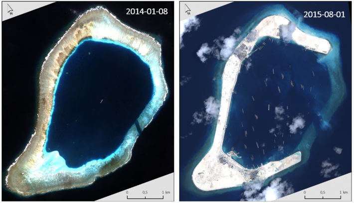 How satellite data support maritime boundary disputes