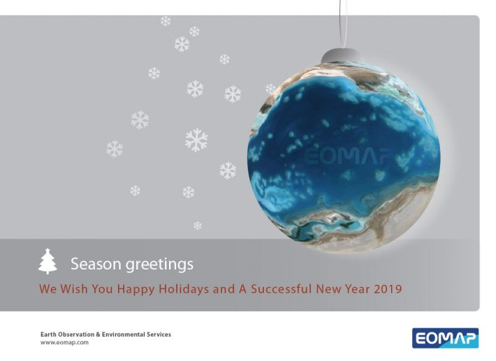 Festive greetings from everyone at team EOMAP