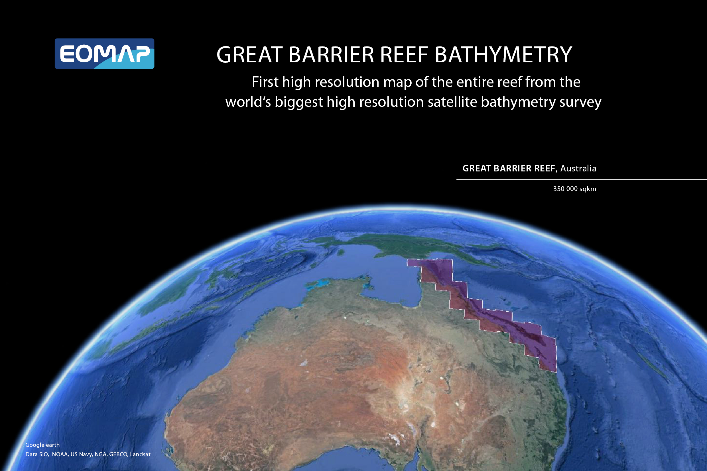 The Great Barrier Reef Bathymetry Earth Observation