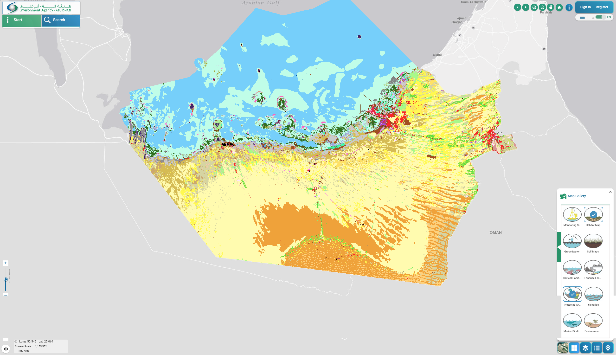 High-Resolution Seafloor Mapping for Environment Agency Abu Dhabi ...